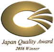 Japan Quality Award 2016 Winner
